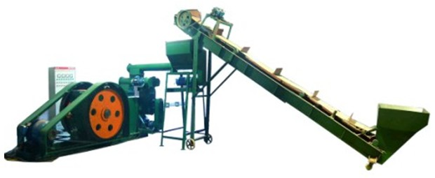 mechanical stamping biomass briquetting press